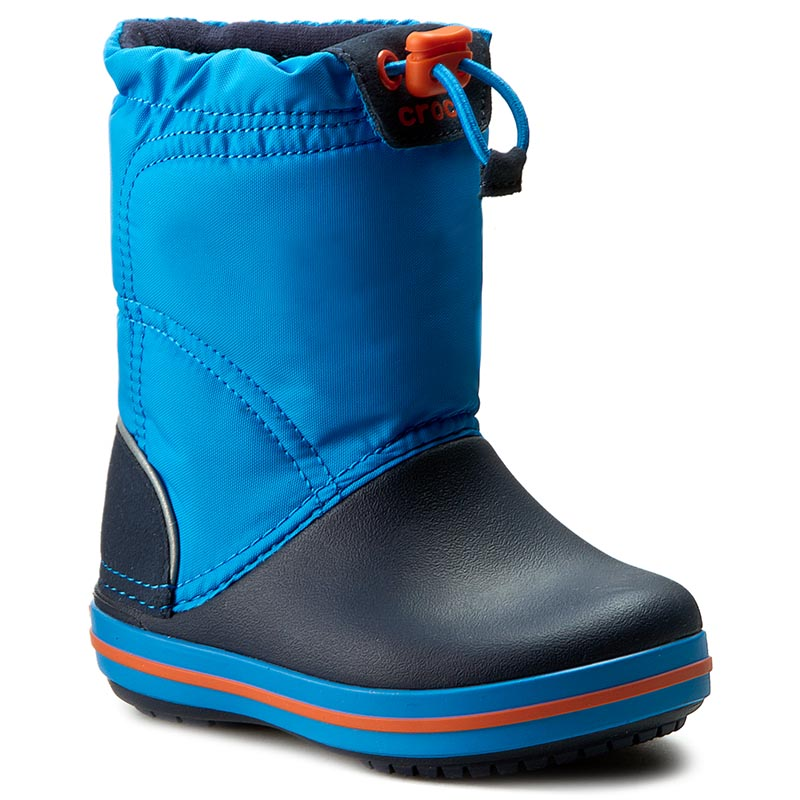3ab01f09958 Epapoutsia Χιονιού CROCS - Crocband Lodgepoint Boot K 203509 Ocean/ Navy