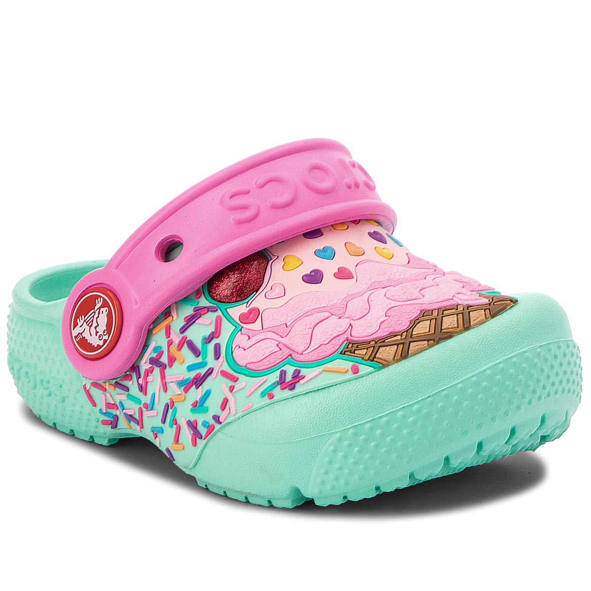 afc2783eb3b Epapoutsia Σανδάλια CROCS - Fun Lab Clog K 205001 Mint/ Party Pink
