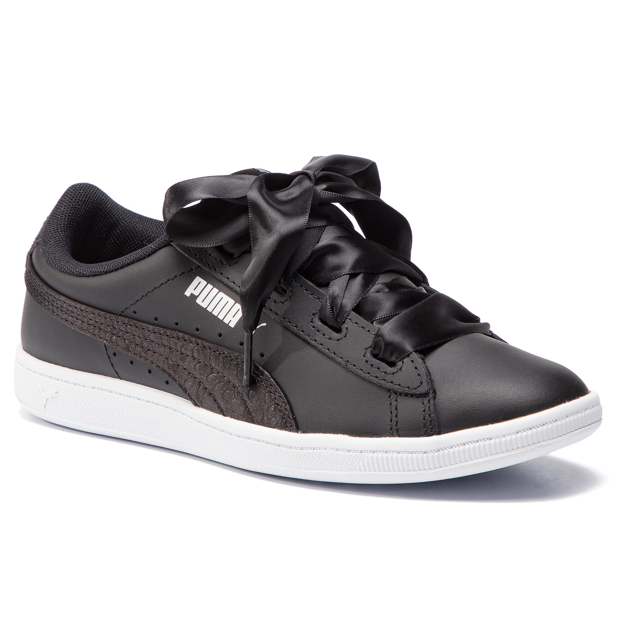 d2dadfc5d34 Epapoutsia Αθλητικα PUMA - Vikky Ribbon L Satin Jr 369542 04 Puma Black/  Puma /