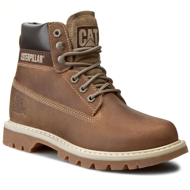 df7432667f Μποτάκια ορειβασίας CATERPILLAR - Colorado P708190 Dark Beige ...