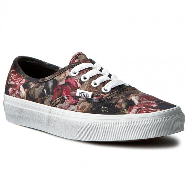 Πάνινα παπούτσια VANS - Authentic VN0004MLJOU (Moody Floral) Black True 090d4ea3ef9