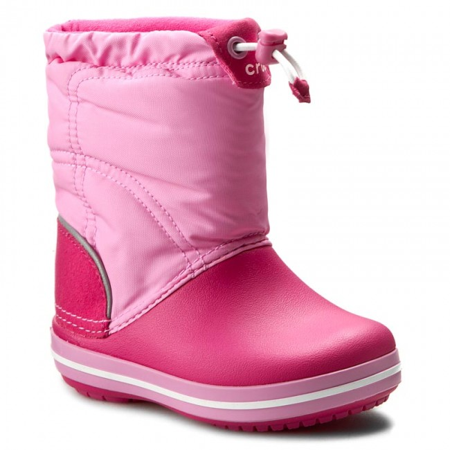 4e98b2a901f Χιονιού CROCS - Crocband Lodgepoint Boot K 203509 Candy Pink/Party Pink
