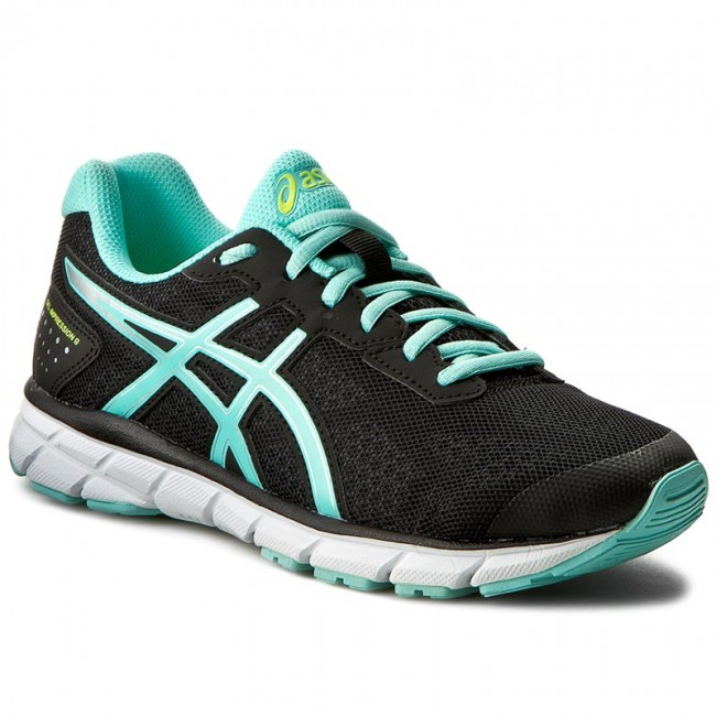 Παπούτσια ASICS - Gel-Impression 9 T6F6N Black Aruba Blue Safety ... 23d5abece4a