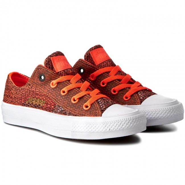 Sneakers CONVERSE - Ctas II Ox 155734C Hyper Orange Alomst Black - Sneakers  - Κλειστά παπούτσια - Γυναικεία - www.epapoutsia.gr 58e7ec28a8f