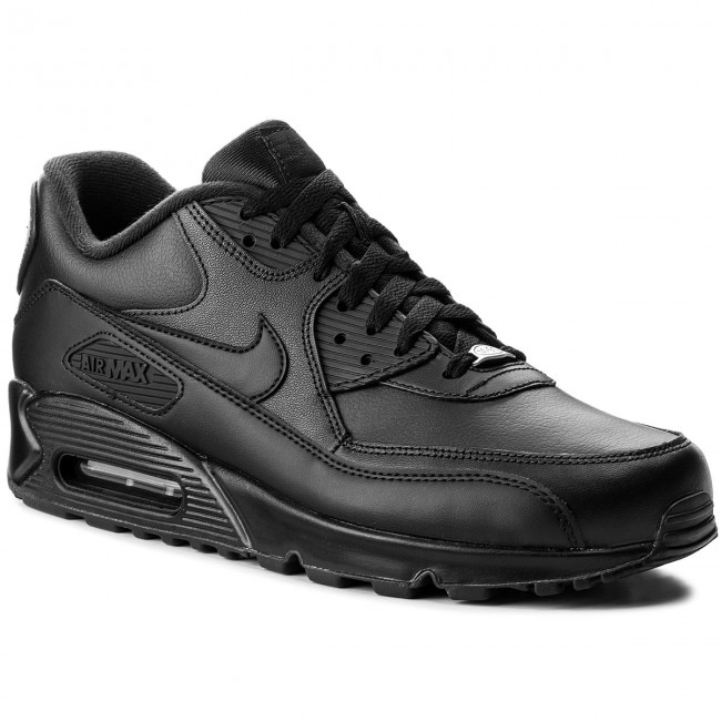 178c2cfc391 Παπούτσια NIKE - Air Max 90 Leather 302519 001 Black/Black ...