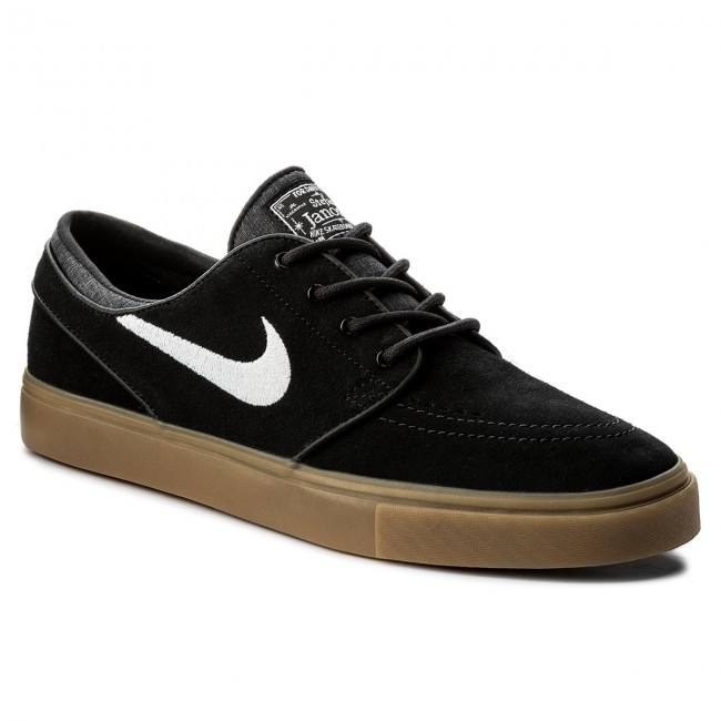 e5f714f0ee6 Παπούτσια NIKE - Zoom Stefan Janoski 333824 021 Black/White/Gum Light Brown