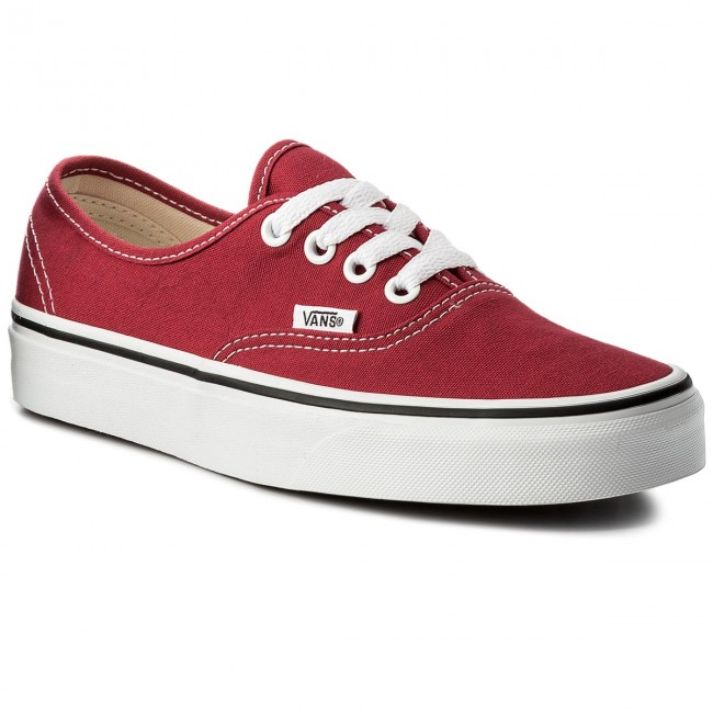 Πάνινα παπούτσια VANS - Authentic VN0A38EMQ9U Crimson True White ... 6967221291b