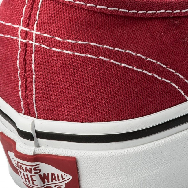 Πάνινα παπούτσια VANS - Authentic VN0A38EMQ9U Crimson True White ... 89b45954ce9