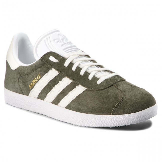 outlet store 0cac3 018a6 Παπούτσια adidas - Gazelle B41649 Basgrn Owhite Ftwwht