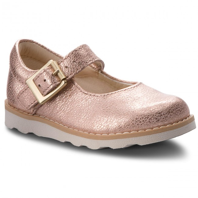 6498d71a366 Κλειστά παπούτσια CLARKS - Crown Honor 261359026 Copper Leather ...