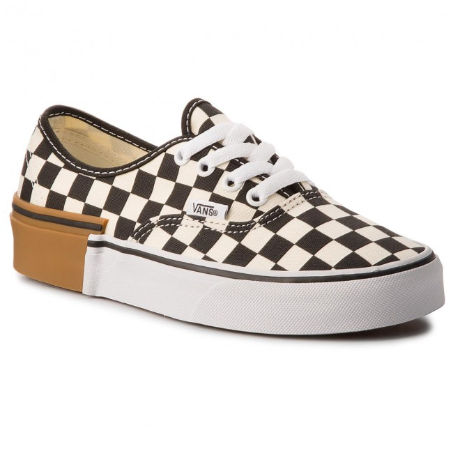 Πάνινα παπούτσια VANS - Authentic VN0A38EMU58 (Gum Block) Checkerboard 43d764ebef8
