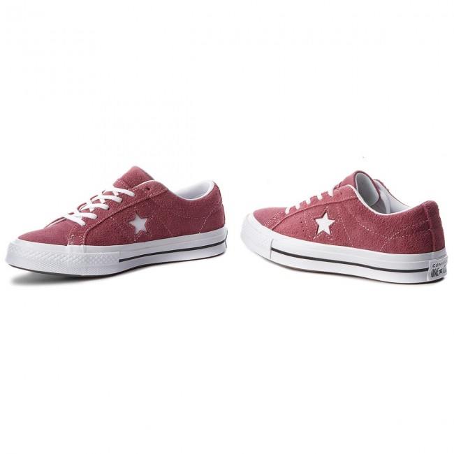 6cdc118716 Πάνινα παπούτσια CONVERSE - One Star Ox 261790C Deep Bordeaux/White/White