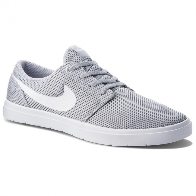 the best attitude 57609 c3675 Παπούτσια NIKE - Sb Portmore II Ultralight 880271 011 Wolf Grey White