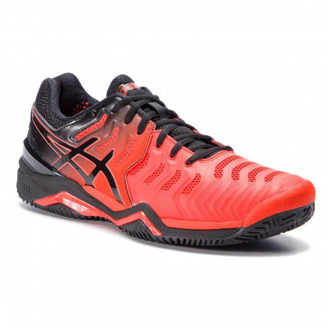 f1aacec338a Παπούτσια ASICS - Gel-Resolution 7 Clay E702Y Cherry Tomato/Black 801