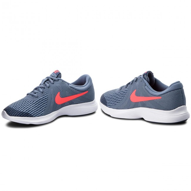 Παπούτσια NIKE - Revolution 4 (GS) 943309 400 Ashen Slate Flash Crimson d52caea6bf6