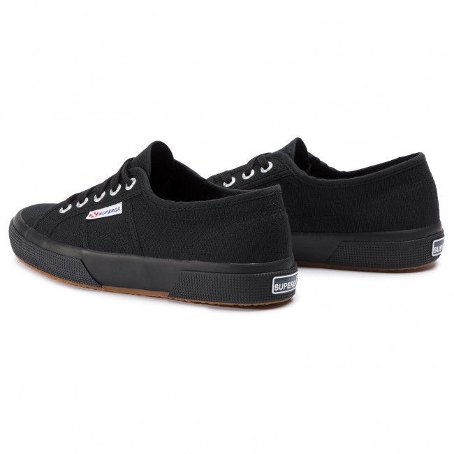 0175dc4265a Πάνινα παπούτσια SUPERGA - 2750 Cotu Classic S000010 Full Black 996 ...