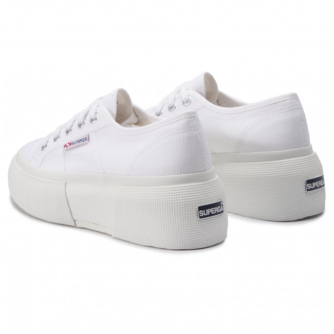 ec2d7fe0cf0 Πάνινα παπούτσια SUPERGA - 2287 Cotu S00DQS0 White 901 - Sneakers ...