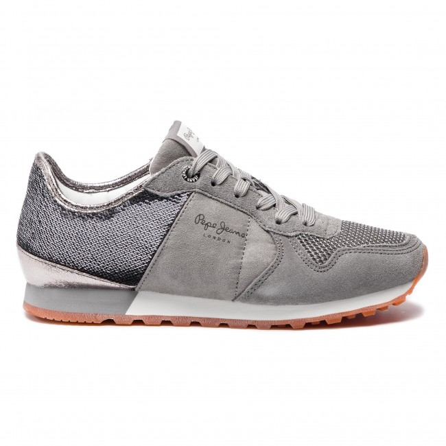 Αθλητικά PEPE JEANS - Verona W New PLS30717 Middle Grey 925 ... a5e79457546