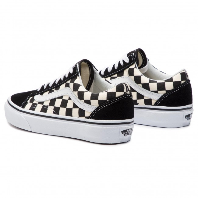 Πάνινα παπούτσια VANS - Old Skool VN0A38G1P0S1 (Primary Check) Blk White e3bdb3c6fb8