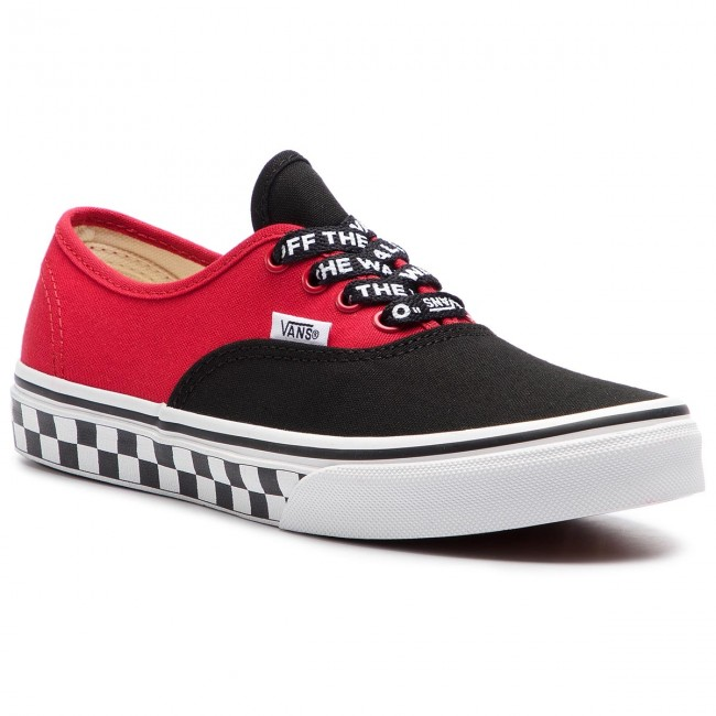Πάνινα παπούτσια VANS - Authentic VN0A38H3VI71 (Logo Pop) Black True ... 0cec072fb70