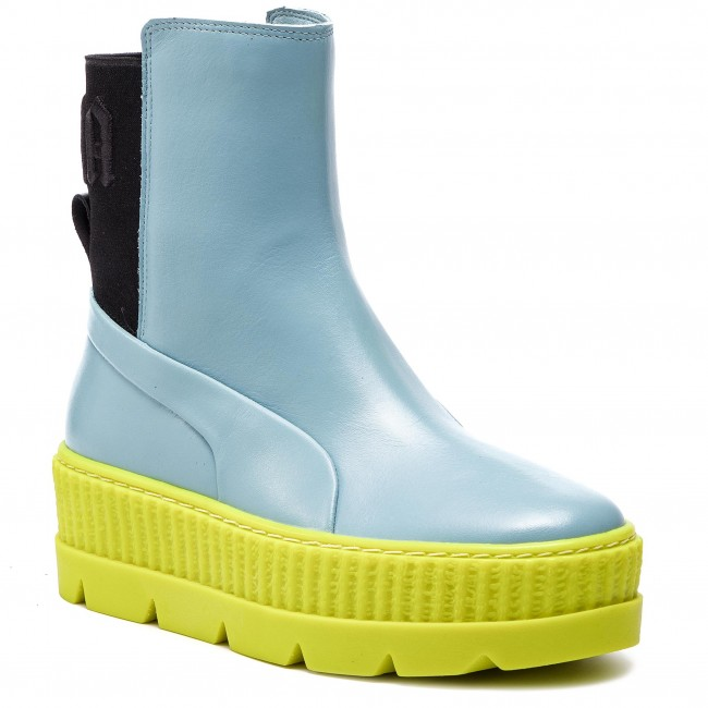 3792d261e4a Αθλητικά PUMA - Chelsea Sneaker Boot Wn s 366266 01 Sterling  Blue Black Limeade