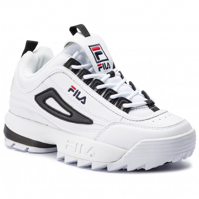 bcf632a4f34 Αθλητικά FILA - Disruptor Cb Low Wmn 1010604.00E White/Black ...