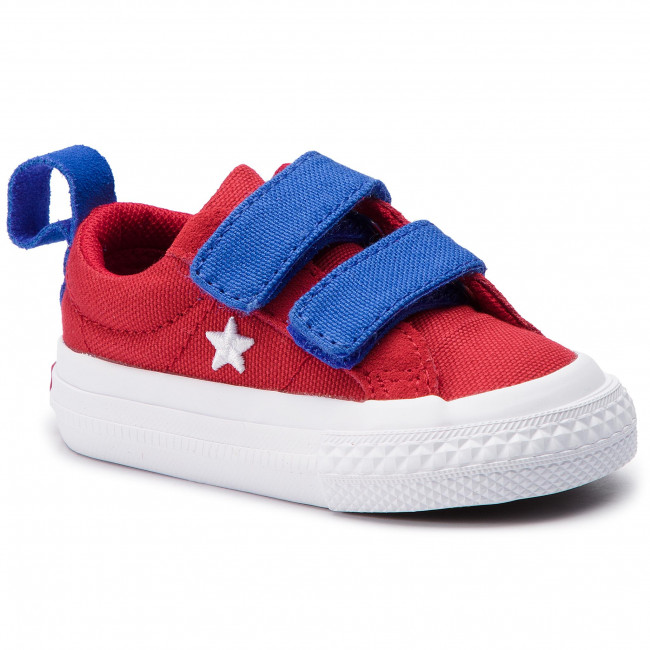 ad1d69e313 Sneakers CONVERSE - One Star 2V Ox 760765C Gym Red/Hyper Royal/White ...