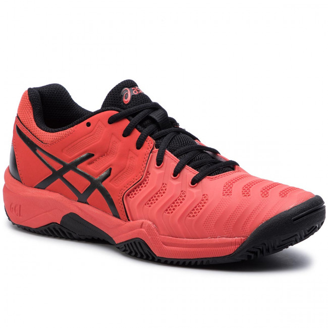 05478792ee6 Παπούτσια ASICS - Gel-Resolution 7 Clay Gs C800Y Cherry Tomato/Black 801