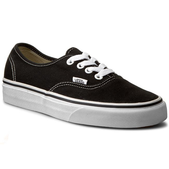 Πάνινα παπούτσια VANS - Authentic VN-0 EE3BLK Black - Sneakers ... 6768728446c