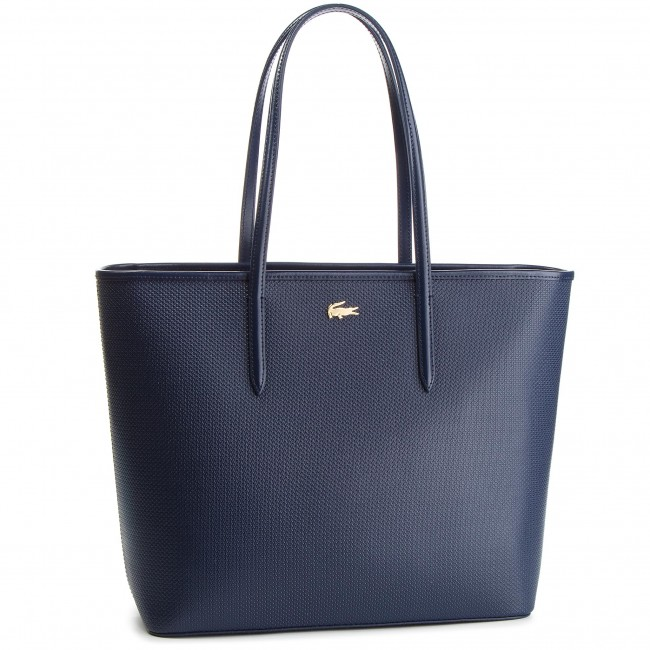 b821b811c1 Τσάντα LACOSTE - Zip Shopping Bag NF2335CE Peacoat 021 - Ώμου ...