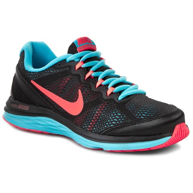 Παπούτσια NIKE - Dual Fusion Run 3 MSL 654446 009 Black Hot Lava ... fa70392d45aaa