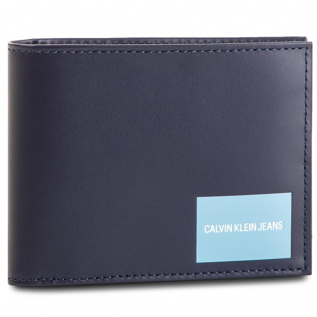 f60bf6c88a Μεγάλο Ανδρικό Πορτοφόλι CALVIN KLEIN JEANS - Coated Canvas Billfold W Coin  K40K400836 449