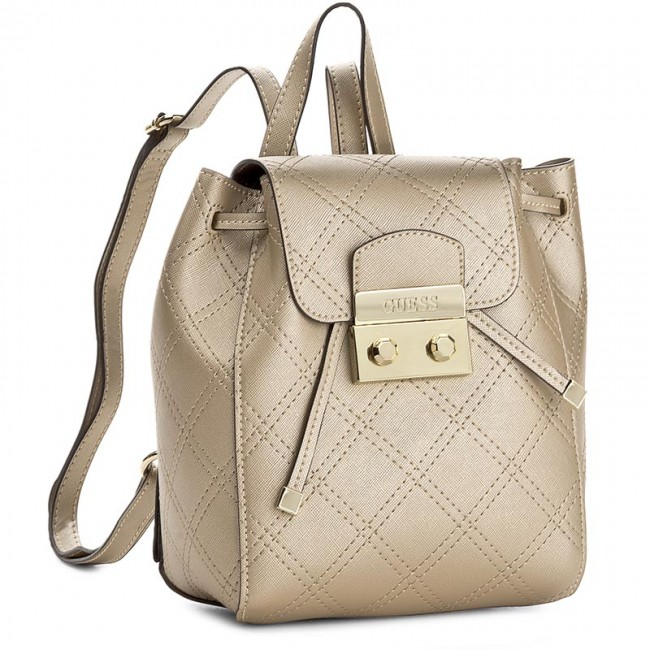 bb4fa80572 Σακκίδιο GUESS - Aria Small Backpack HWARIA P7344 GOL - Πλάτης ...