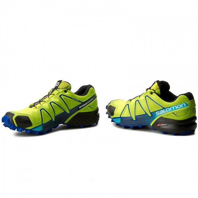 358154903aa Παπούτσια SALOMON - Speedcross 4 392399 27 V0 Lime Green/Nautical  Blue/Hawaiian Ocean