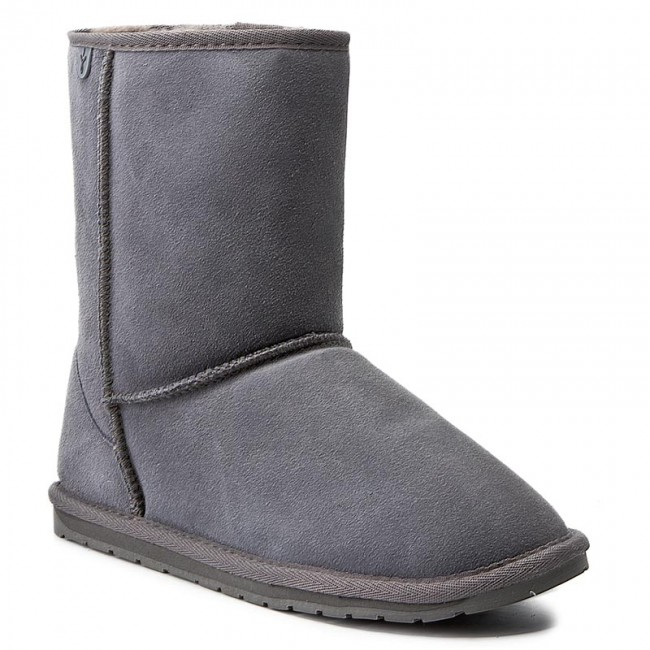 Παπούτσια EMU AUSTRALIA - Wallaby Lo Teens T10102 Charcoal