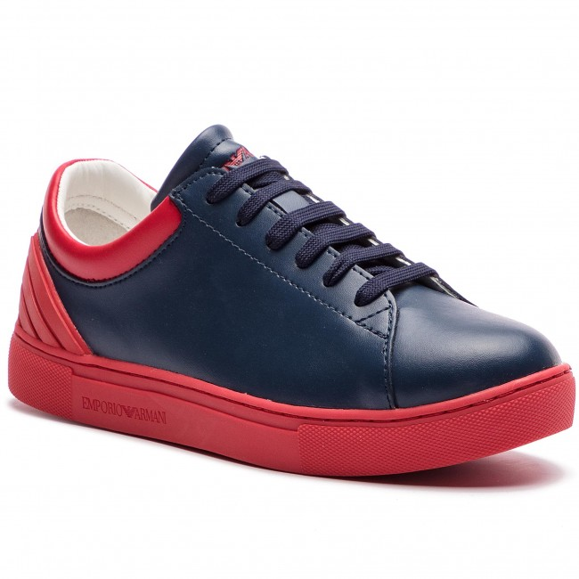 2cb6d9fe3 Αθλητικά EMPORIO ARMANI - XYX001 XOI12 D127 1 Navy/Red - Με κορδόνι -  Κλειστά παπούτσια - Αγόρι - Παιδικά - epapoutsia.gr