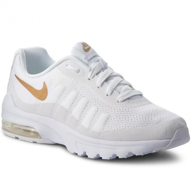 4c3f6777903 Παπούτσια NIKE - Air Max Invigor (GS) 749572 100 White/Metallic Gold
