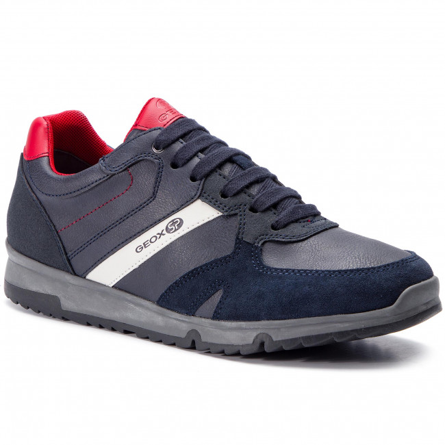 exclusive shoes official shop cheap for discount Αθλητικά GEOX - U Wilmer B U823XB 0ME22 C4244 Navy/Dk Red