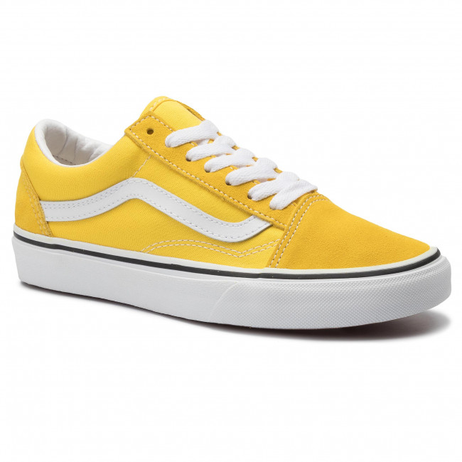 Πάνινα παπούτσια VANS Old Skool VN0A4BV5FSX1 Vibrant YellowTrue White