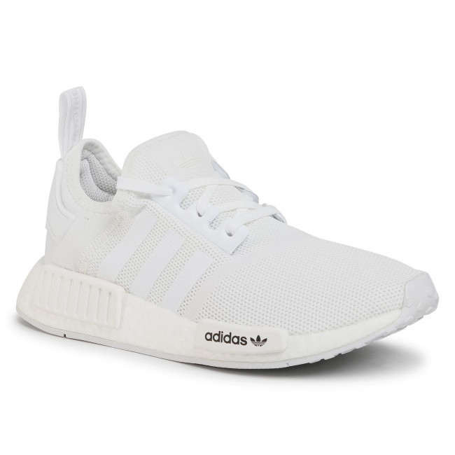 Παπούτσια adidas - Nmd-R1 J FW0432 Cloud White/Cloud White/Crystal White