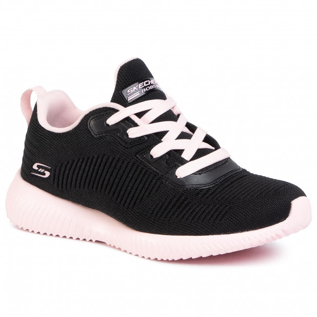 Παπούτσια SKECHERS - Summer Haze 117007/BKPK Black/Pink