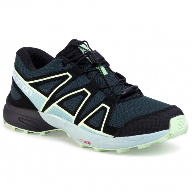 Παπούτσια SALOMON - Speedcross J 409588 15 M0 Green Gables/Icy Morn/Partina Green
