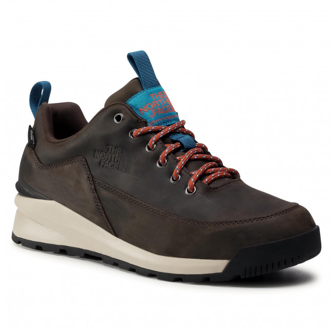 Παπούτσια πεζοπορίας THE NORTH FACE - Back To Berkeley Low Wp NF0A4OBSU6V1 Coffee Brown/Tnf Black