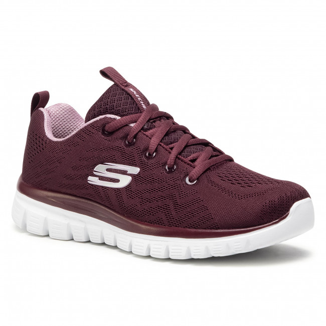 Παπούτσια SKECHERS - Get Connected 12615/WINE Wine 1