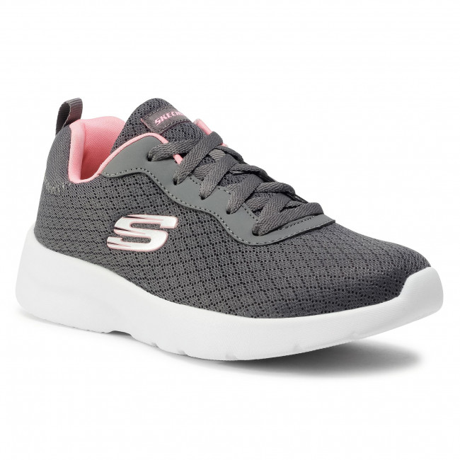 Παπούτσια SKECHERS - Eye To Eye 12964/CCCL Charcoal/Coral