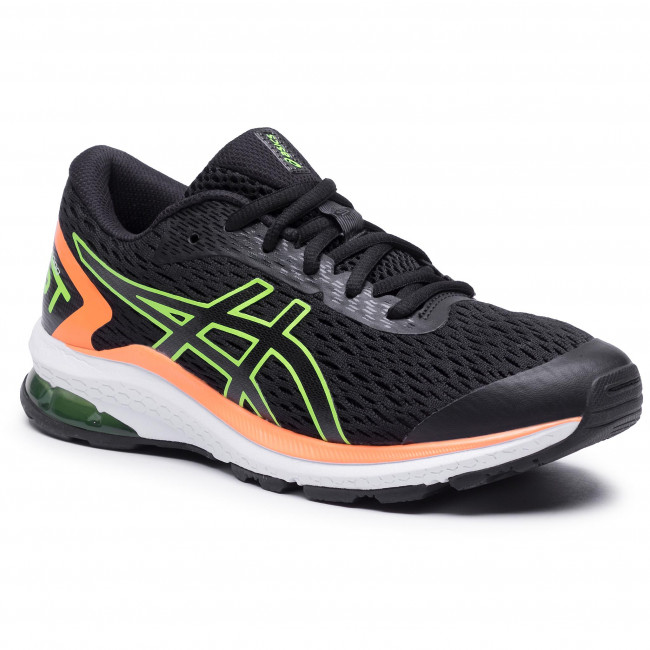 Παπούτσια ASICS - GT-1000 9 GS 1014A150 Black/Green Gecko 005