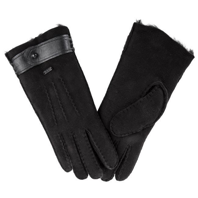 Γάντια Γυναικεία EMU AUSTRALIA - Sandford Gloves XS/S Black