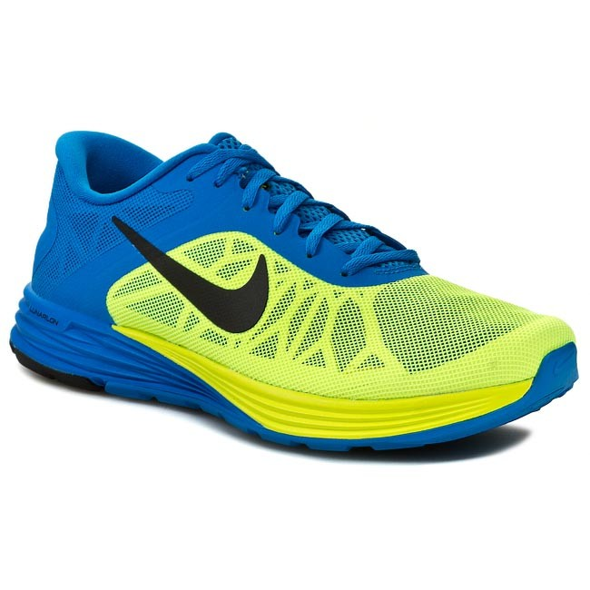 Παπούτσια NIKE - Lunarlaunch 654915 700 Volt/Black/Photo Blue