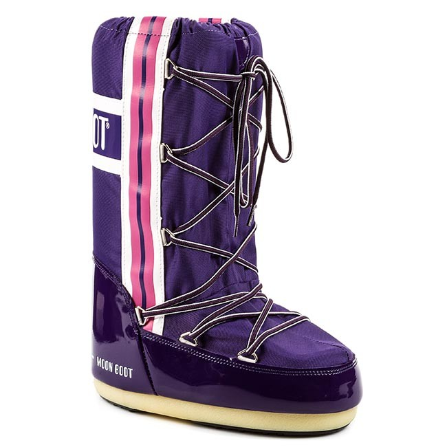 Χιονιού MOON BOOT - Training 14018900005 Purple/ White/ Pink