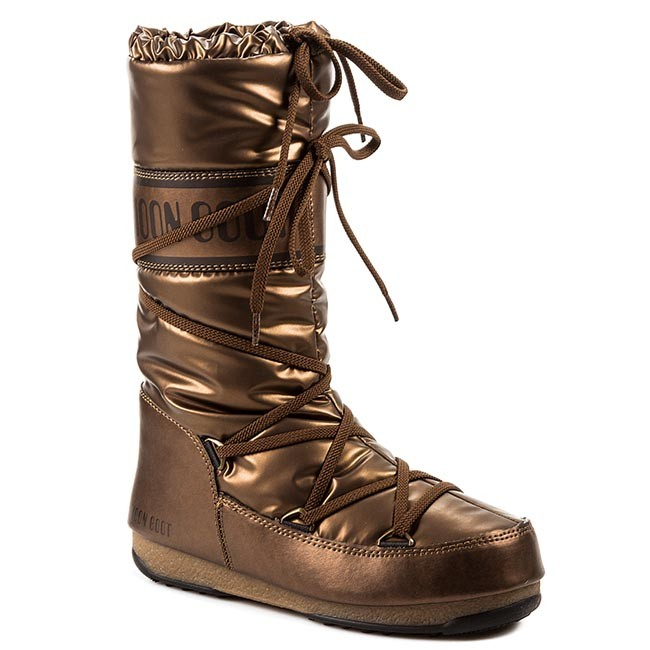 Χιονιού MOON BOOT - Soft Met 24003700001 Bronzo